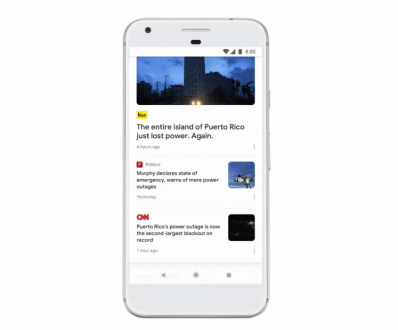 Google News si rinnova completamente sfruttando la AI