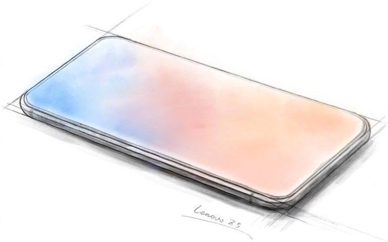 Lenovo potrebbe realizzare il primo vero smartphone a tutto schermo