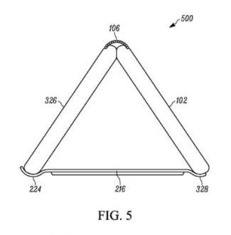 Motorola brevetta un nuovo smartphone pieghevole