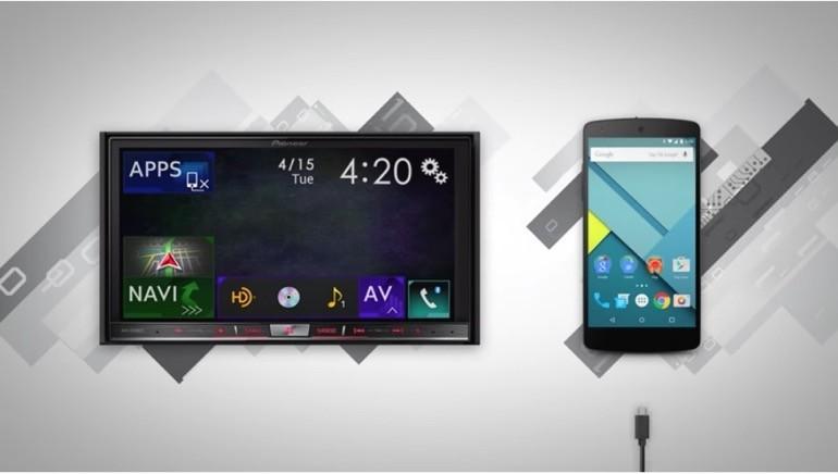 Pioneer lancia nuovi autoradio con sistema Android Auto