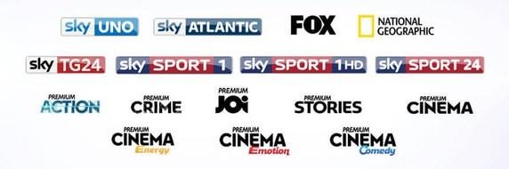 Canali Sky digitale terrestre