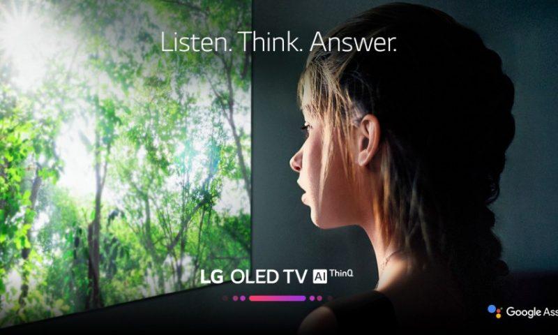Google Assistant arriva sulle Smart TV LG OLED del 2018