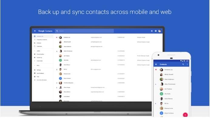Google Contatti, in arrivo un update con nuove funzionalità