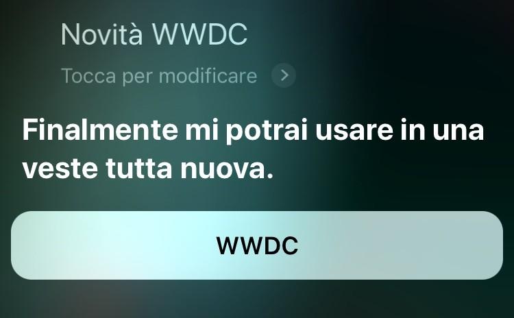 Siri verrà completamente rinnovato durante la WWDC 2018?