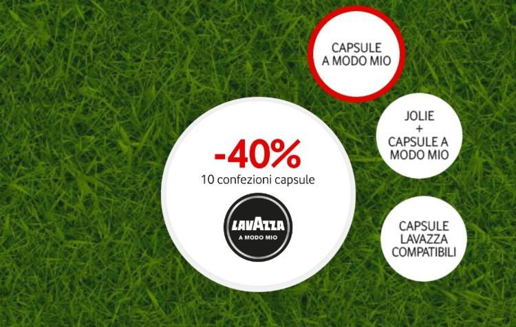 Vodafone Happy vi regala tanti sconti sui prodotti Lavazza