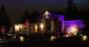 Anima gli esterni del tuo appartamento con LE, il Proiettore Faro 10W RGB a 16 colori