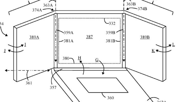 Lenovo pensa ad un Laptop ibrido con tre schermi