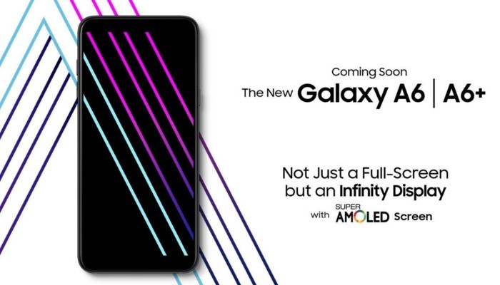 Samsung Galaxy A6 ed A6+ sono ora ufficiali