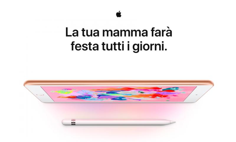 """Apple ti invita a """"dimostrare alla mamma tutto il tuo amore"""""""