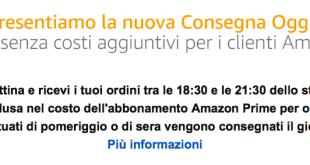 """A Milano arriva Amazon """"Consegna Oggi"""""""