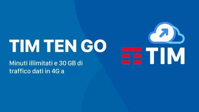 Tornano strepitose le TIM Ten GO 30GB e 10 Super Go 20GB a 10€
