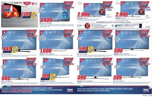 Buoni Sconto di 20 e 40 euro con il nuovo volantino Trony valido da oggi fino al 13 giugno