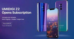 UMIDIGI Z2: partono i preordini e la compagnia regala 10 UMIDIGI Z2 Pro e UMIDIGI Q1, scopri come