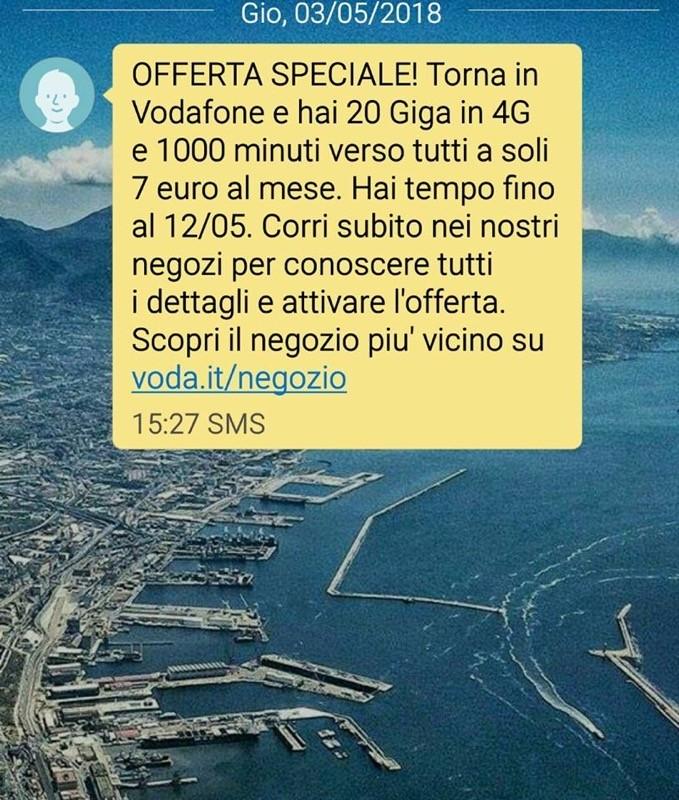 Vodafone winback