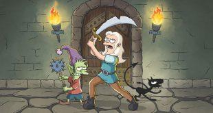 Disincanto: primo trailer ufficiale della nuova serie animata di Matt Groening