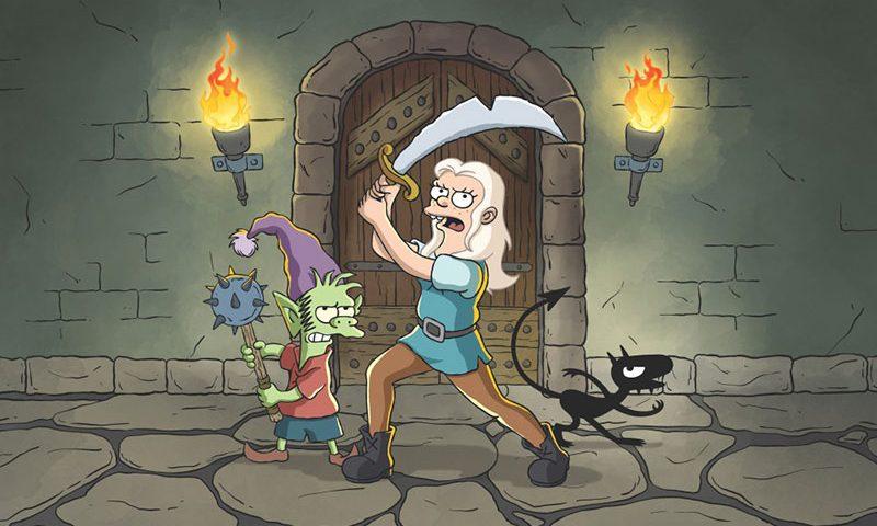 Disincanto: ecco le prime immagini della nuova serie animata di Matt Groening