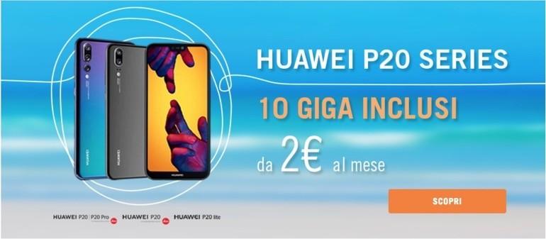 Wind offerta Huawei P20 Pro
