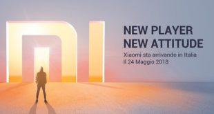 Xiaomi disponibile in Italia a partire dal 24 maggio