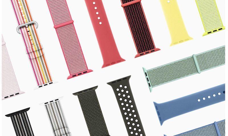 La collezione primaverile dei cinturini per Apple Watch è quasi terminata