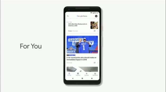 Il nuovo Google News è disponibile al download per tutti