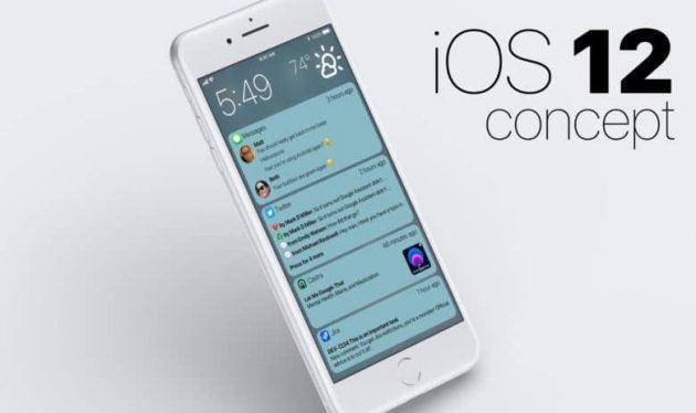 Un nuovo concept di iOS 12 mostra le notifiche raggruppate
