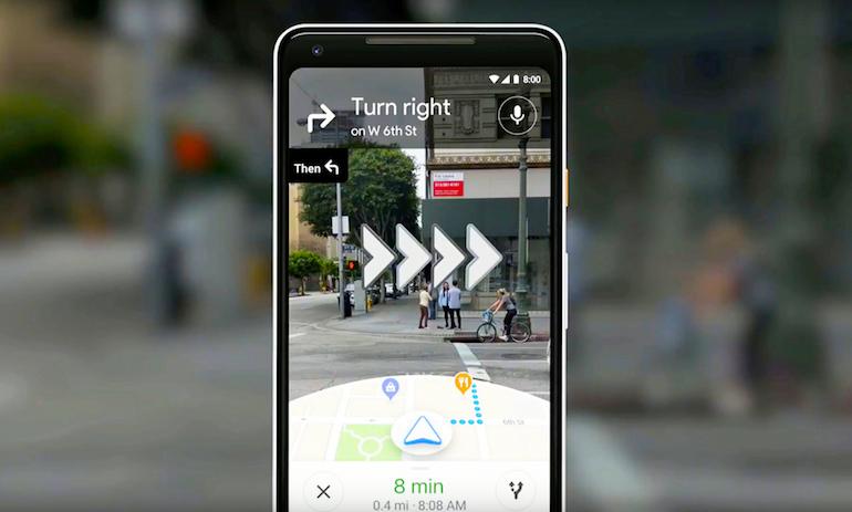 Google Maps: naviga nel futuro con realtà aumentata e intelligenza artificiale
