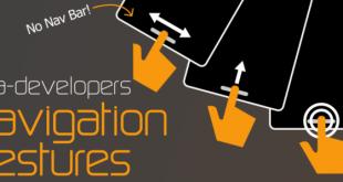 Anche XDA pensa alle Gestures come sistema di navigazione