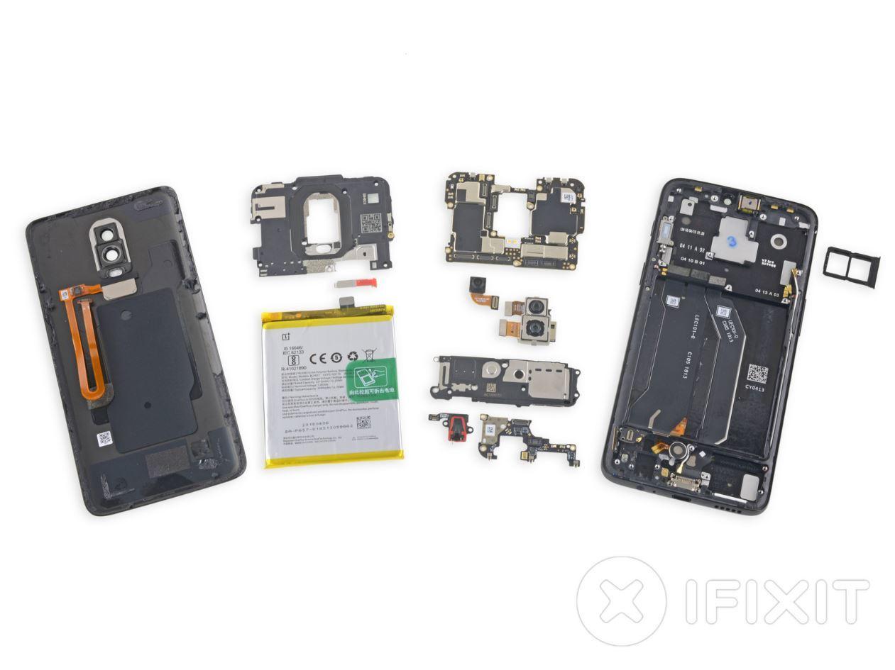 teardown OnePlus 6