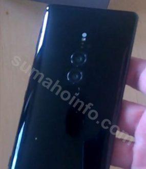 Sony Xperia XZ3 implementa una nuova dual camera: ecco le immagini