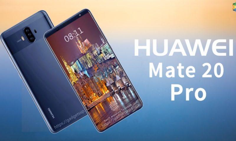 Huawei Mate 20 Pro avrà pannelli Samsung flessibili da 6,9″