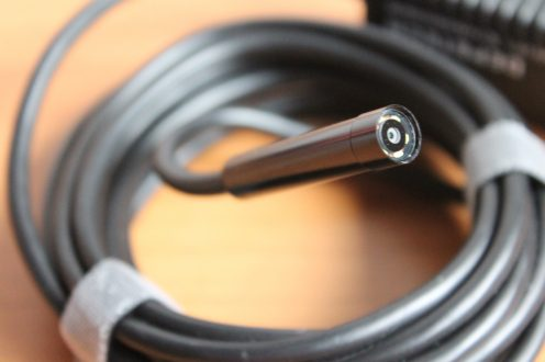 Recensione endoscopio wireless da Depstech