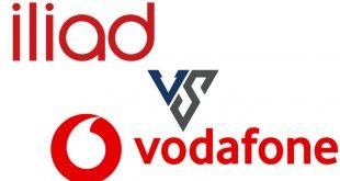 Cannonata contro Iliad con Vodafone Special Minuti 20GB e 30GB a prezzo incredibile