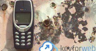 L'indistruttibile Nokia 3310, il cellulare che distrugge anche i proiettili