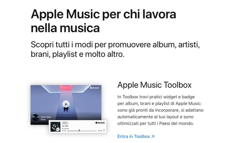 Come creare i widget web di Apple Music