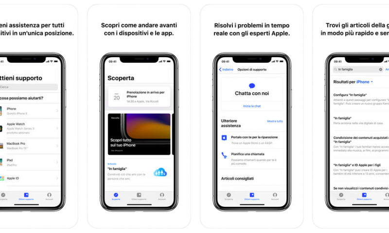Italiani all'estero? L'App di Supporto Apple è ora disponibile in molti più Paesi