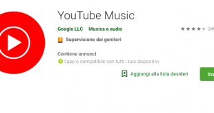 YouTube Music è ufficialmente disponibile in Italia!