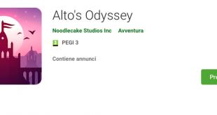 Alto's Odyssey sarà presto disponibile anche per Android!