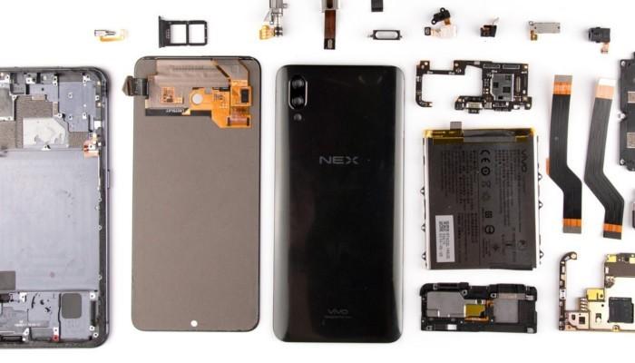 Vivo NEX è uno smartphone speciale, a confermarlo il teardown