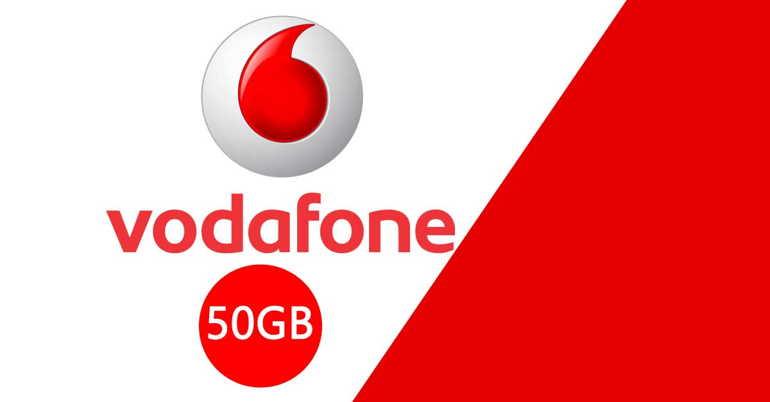Vodafone Special Unlimited 50GB, con minuti ed SMS illimitati,scende a 8 euro al mese
