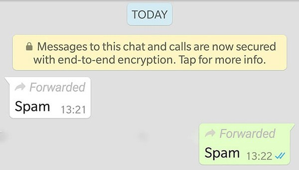 Whatsapp Inoltra