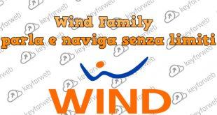 Dal 18 giugno arriva Wind Family, l'offerta per chi ama condividere i Giga