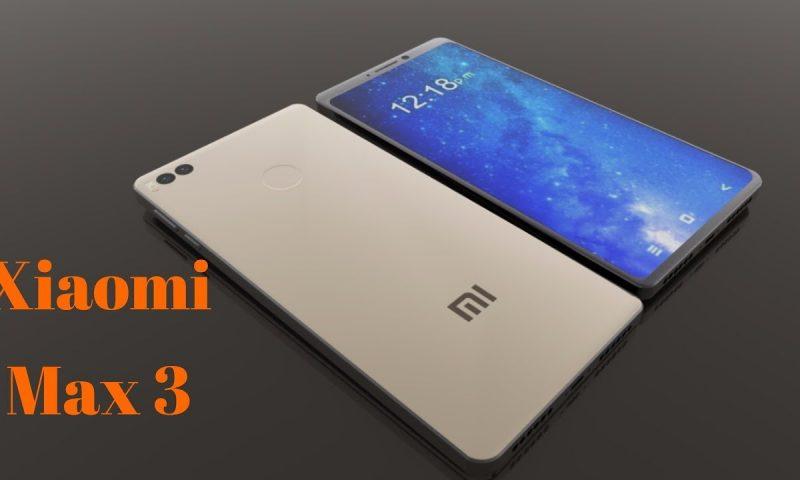 L'ampio schermo di Xiaomi Mi MAX 3 in una nuova immagine reale