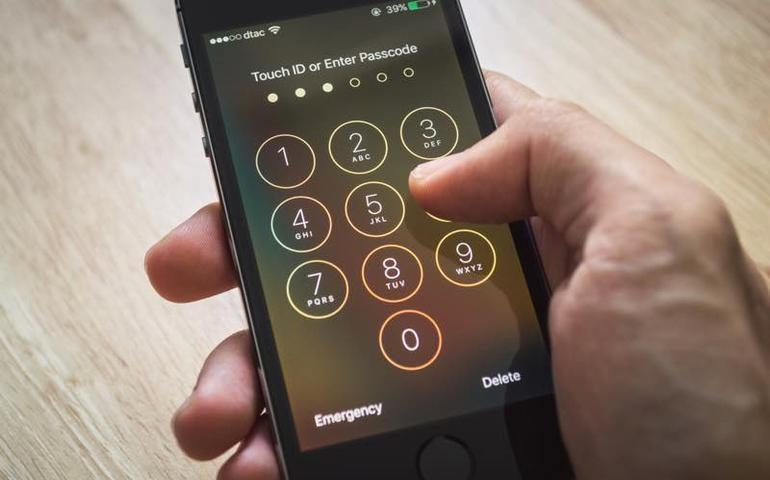 iphone 5s bloccato schermo