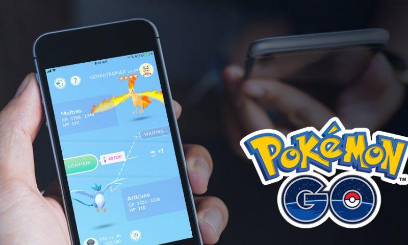 Su Pokemon Go è in arrivo la possibilità di scambiare le creature tra allenatori