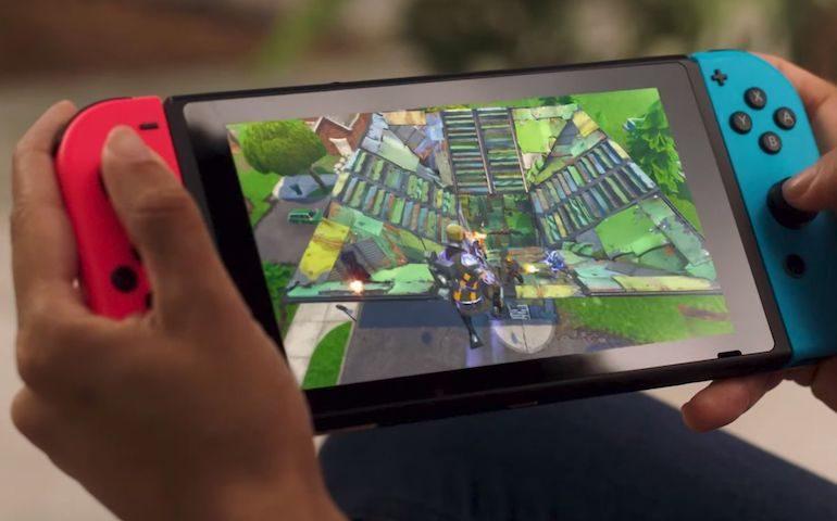 Fortnite ufficialmente disponibile il download gratuito su Nintendo Switch