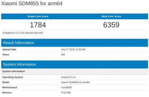 Qualcomm Snapdragon 855 fa la sua apparizione su uno smartphone Xiaomi
