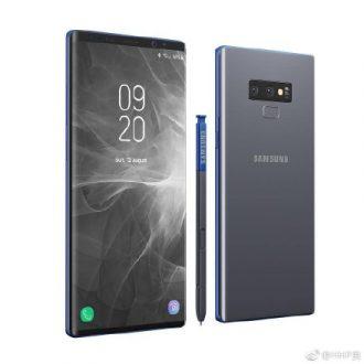 Samsung Galaxy Note 9 in tante nuove immagini, la S-Pen torna protagonista