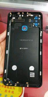 Il pannello posteriore di Xiaomi Mi MAX 3 in nuove immagini