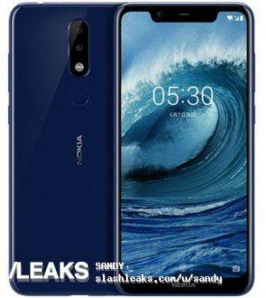 Nokia 5.1 Plus ha il Notch, eccolo in foto