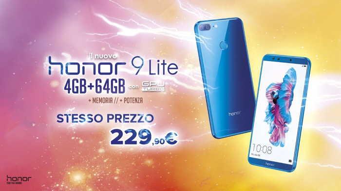 Honor 9 Lite, il grande ritorno in versione potenziata